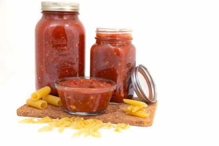 Sauce à spaghetti végétarienne