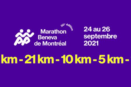 Le Marathon Beneva de Montréal en septembre