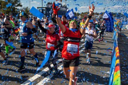 33 000 coureurs à New York